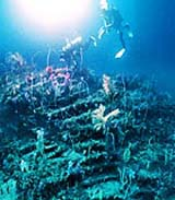 Underwater medieval-era ruins found off the coast of Atami, Japan