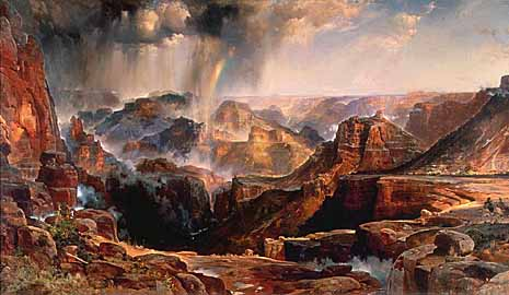 'Chasm of the Colorado' by Thomas Moran