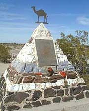 'Hi Jolly' Monument, Quartzsite, Arizona