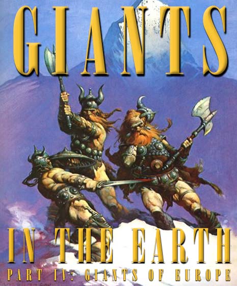 'Snow Giants' � Frank Frazetta.