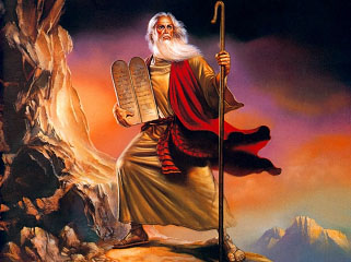 Moses, by Boris Vallejo