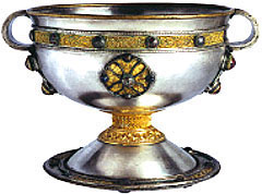 The Ardagh Chalice, image © The National Museum of Ireland
